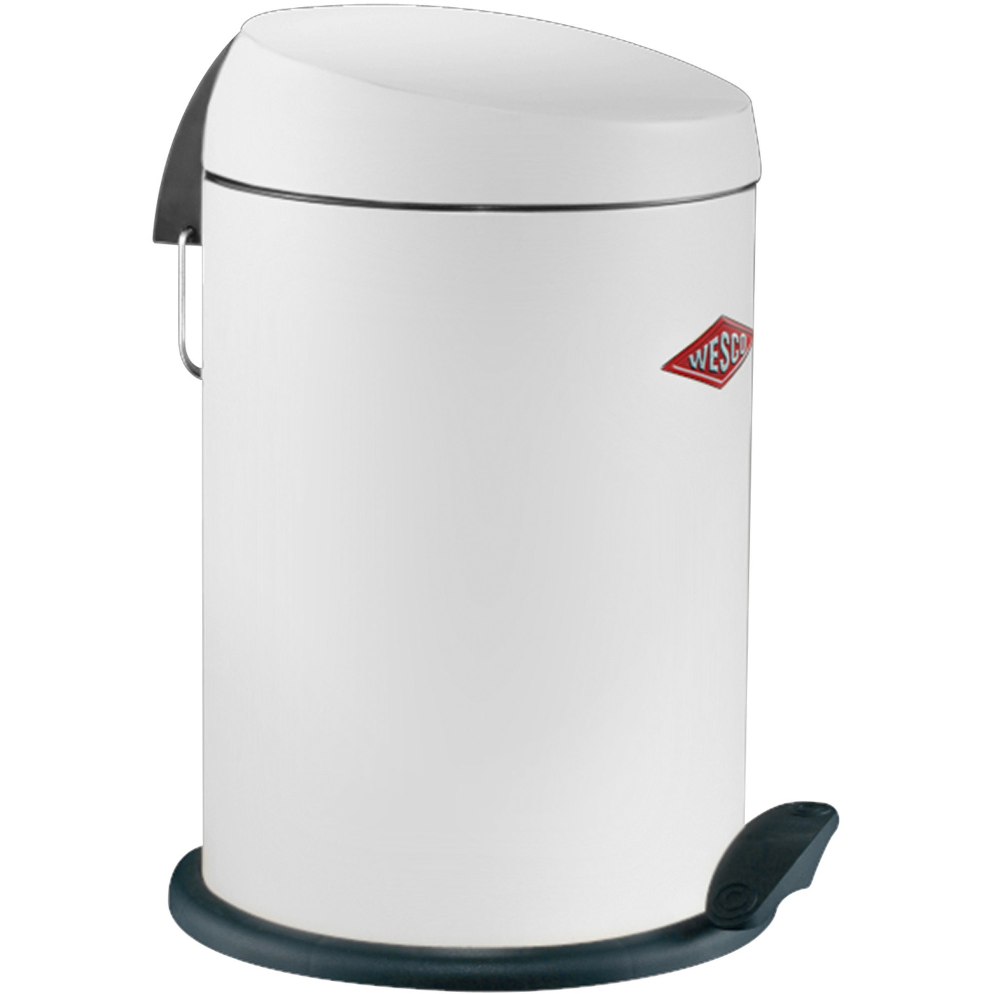 Wesco Capboy pedalhink 13 liter – vit