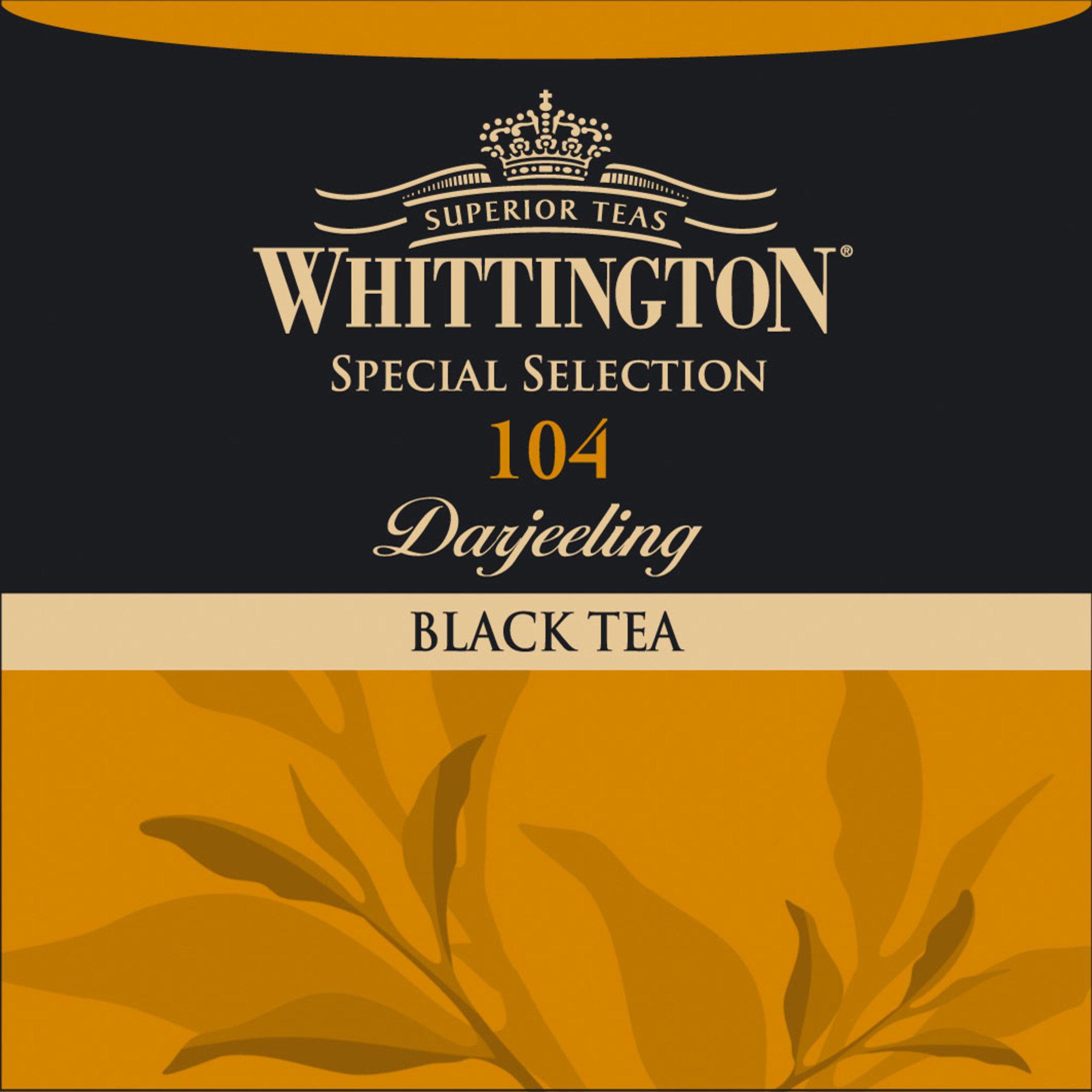 Whittington Darjeeling te