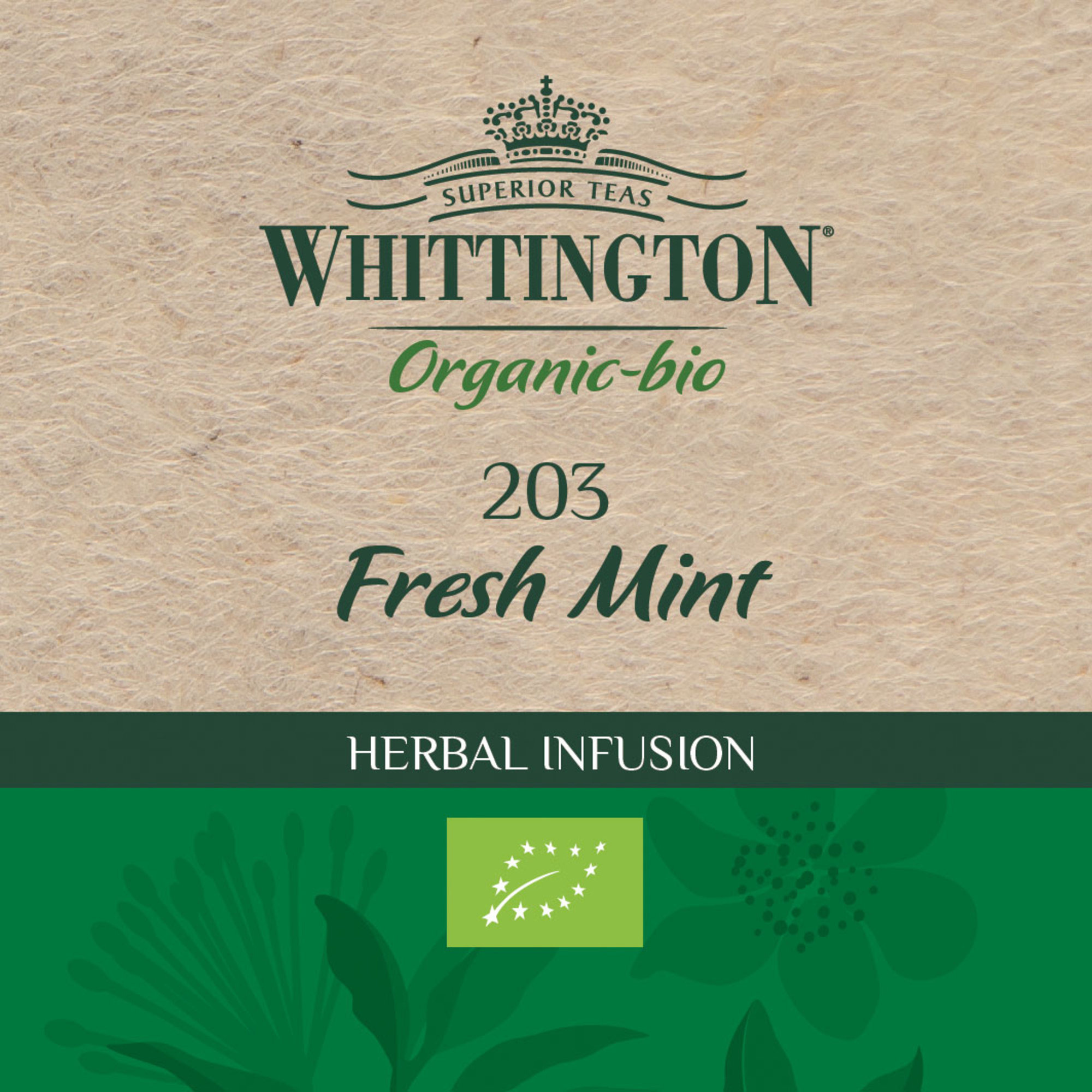 Whittington Fresh Mint Infusion ekologiskt te