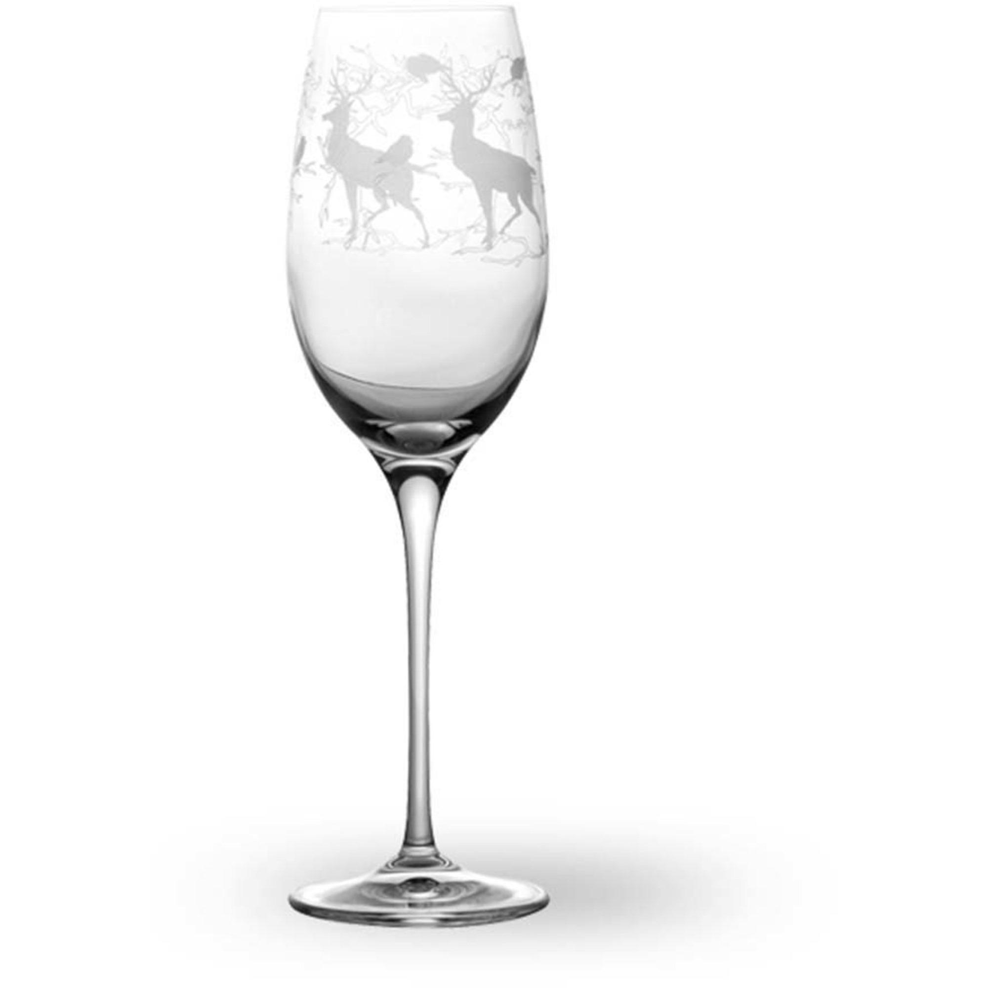 Wik & Walsøe Alveskog Champagneglas 30 cl