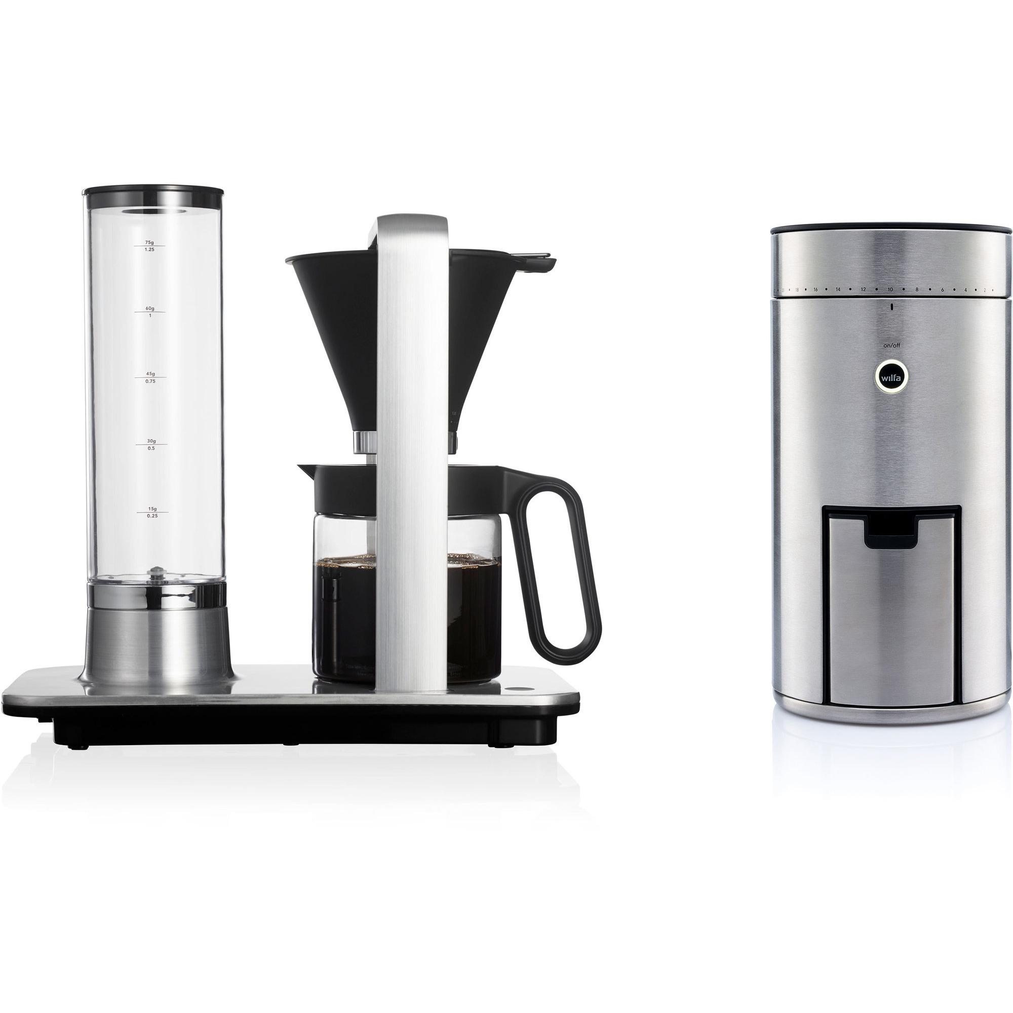 Wilfa Kaffemaskin WSP-2A och kaffekvarn WSFBS-100S