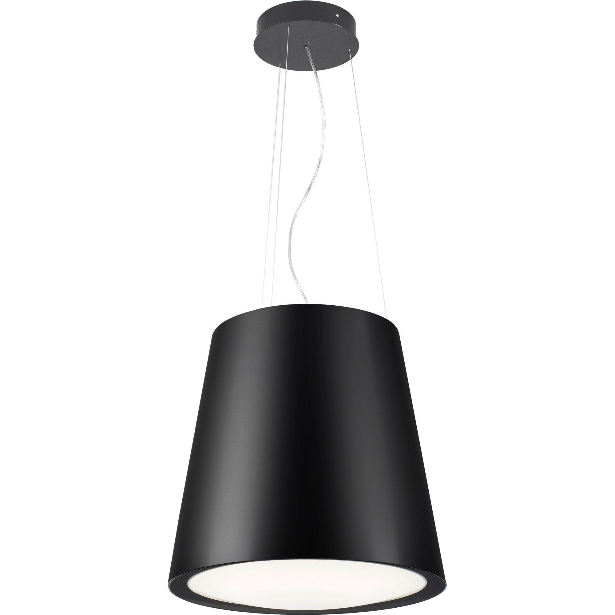 Witt Architect Free Matte Black frihängande köksfläkt