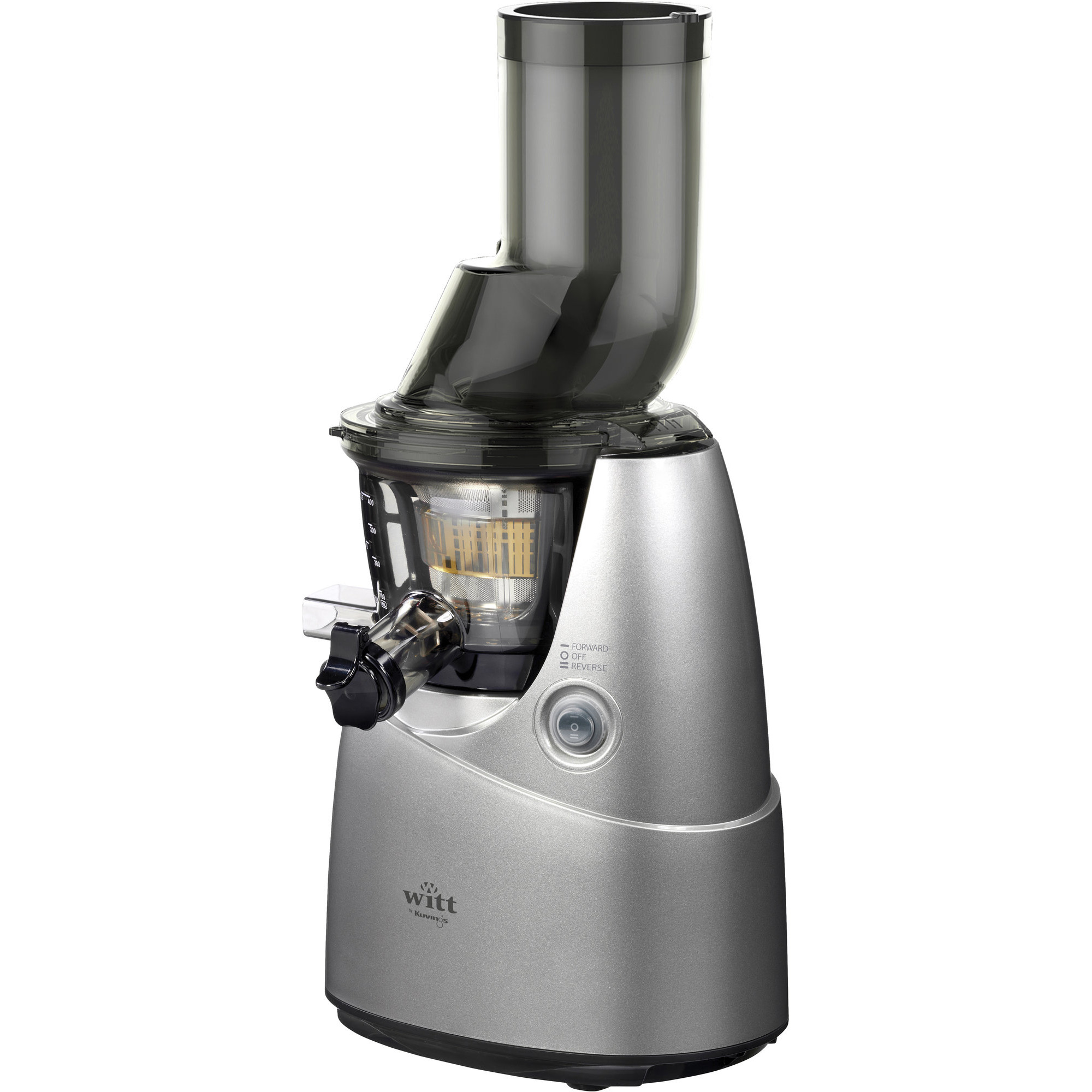 Witt By Kuvings B6100 Slow Juicer Pris : Kuvings B6100 Silver fran Witt by Kuvings Gratis leverans