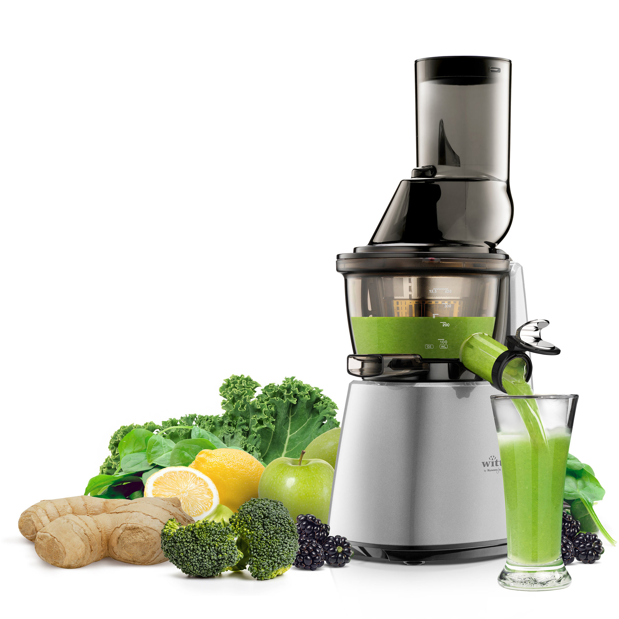 Best?ll C9600 S Slow Juicer silver fran Witt by Kuvings