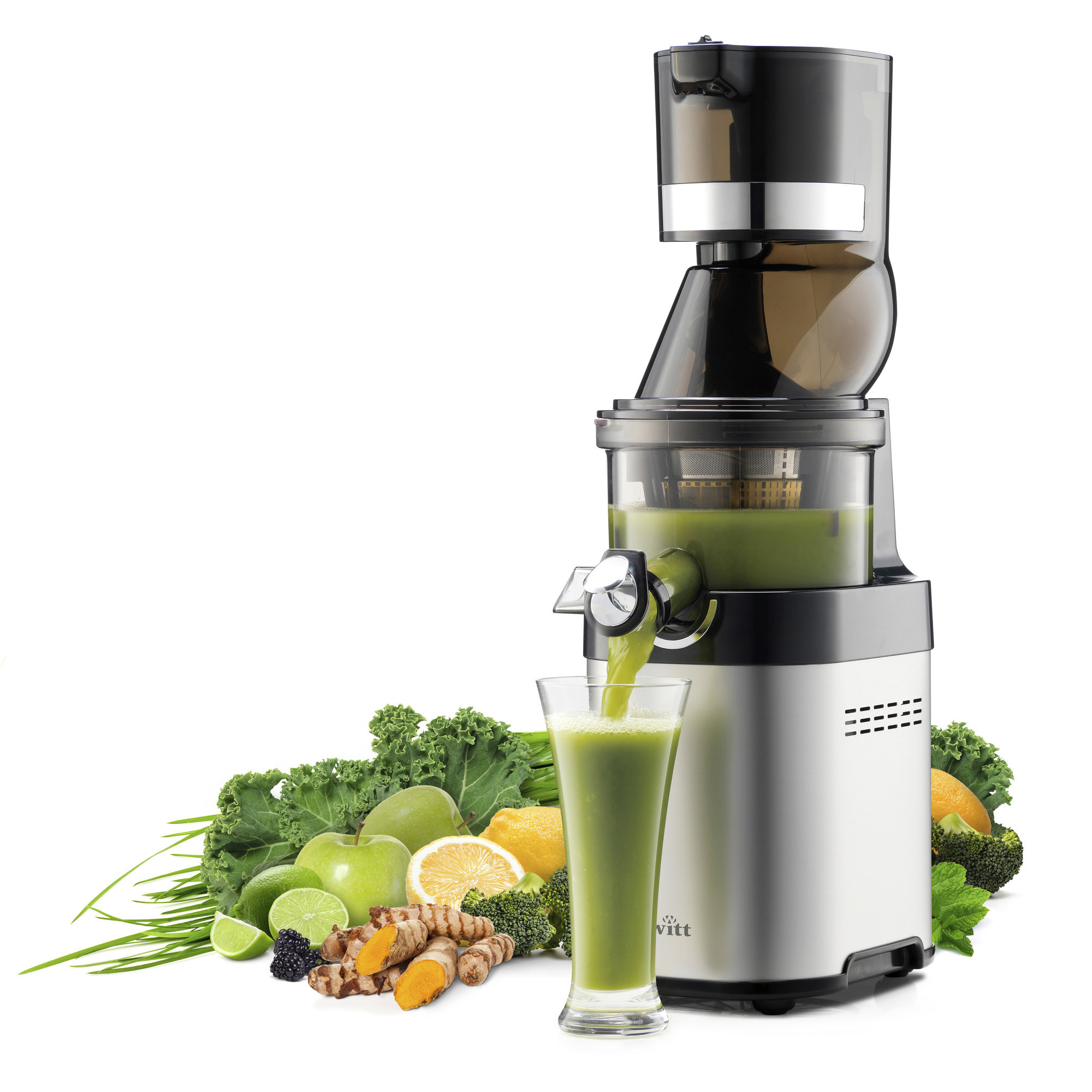 Slowjuicer Fra Witt : CS610 Pro Slow Juicer fra Witt by Kuvings Gratis Levering