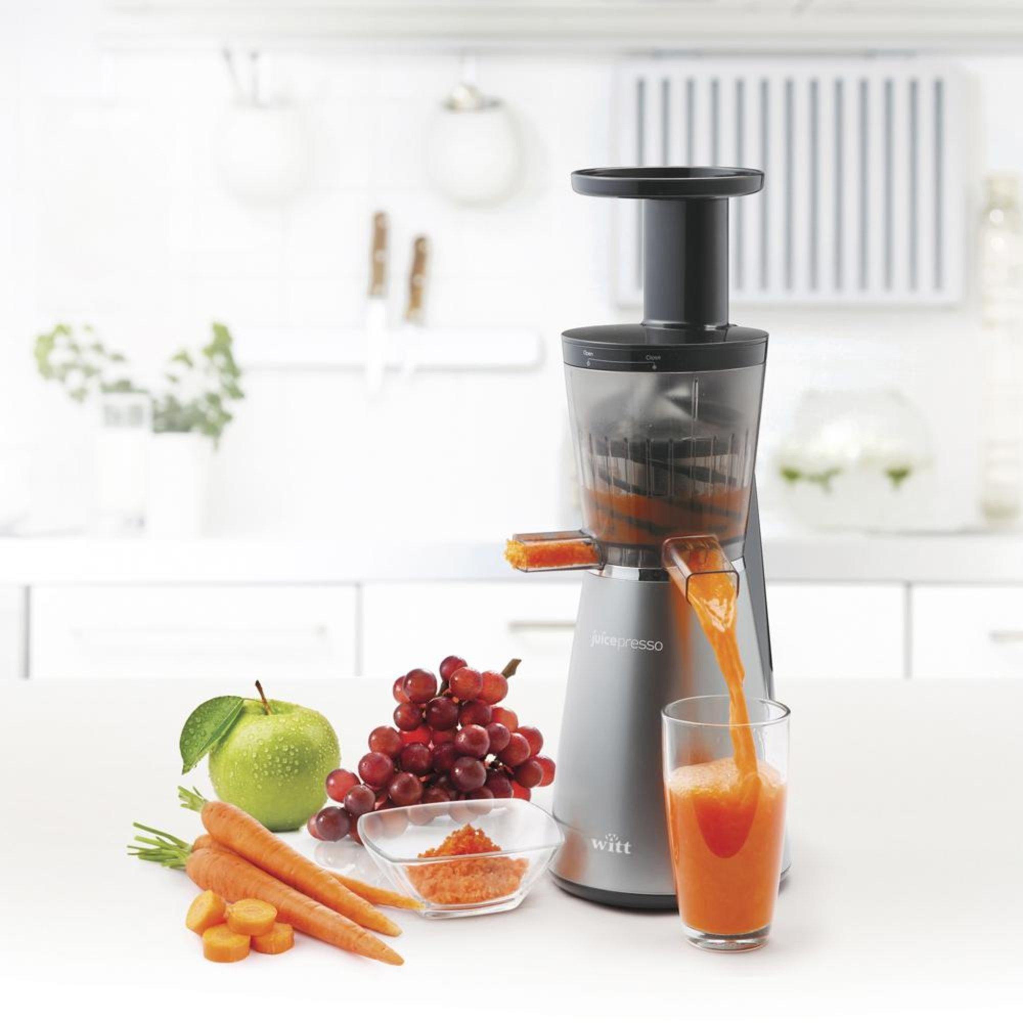 Witt Slow Juicer Rengoring : Juicepresso WJPS-1 Slow Juicer fra Witt Gratis Levering