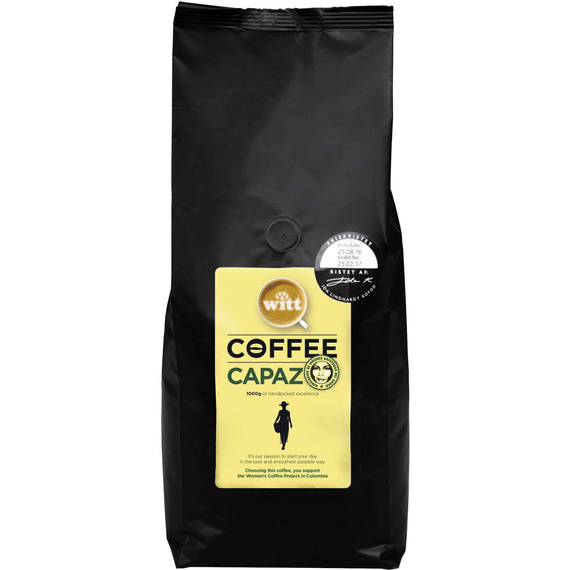 Witt Capaz kaffebönor