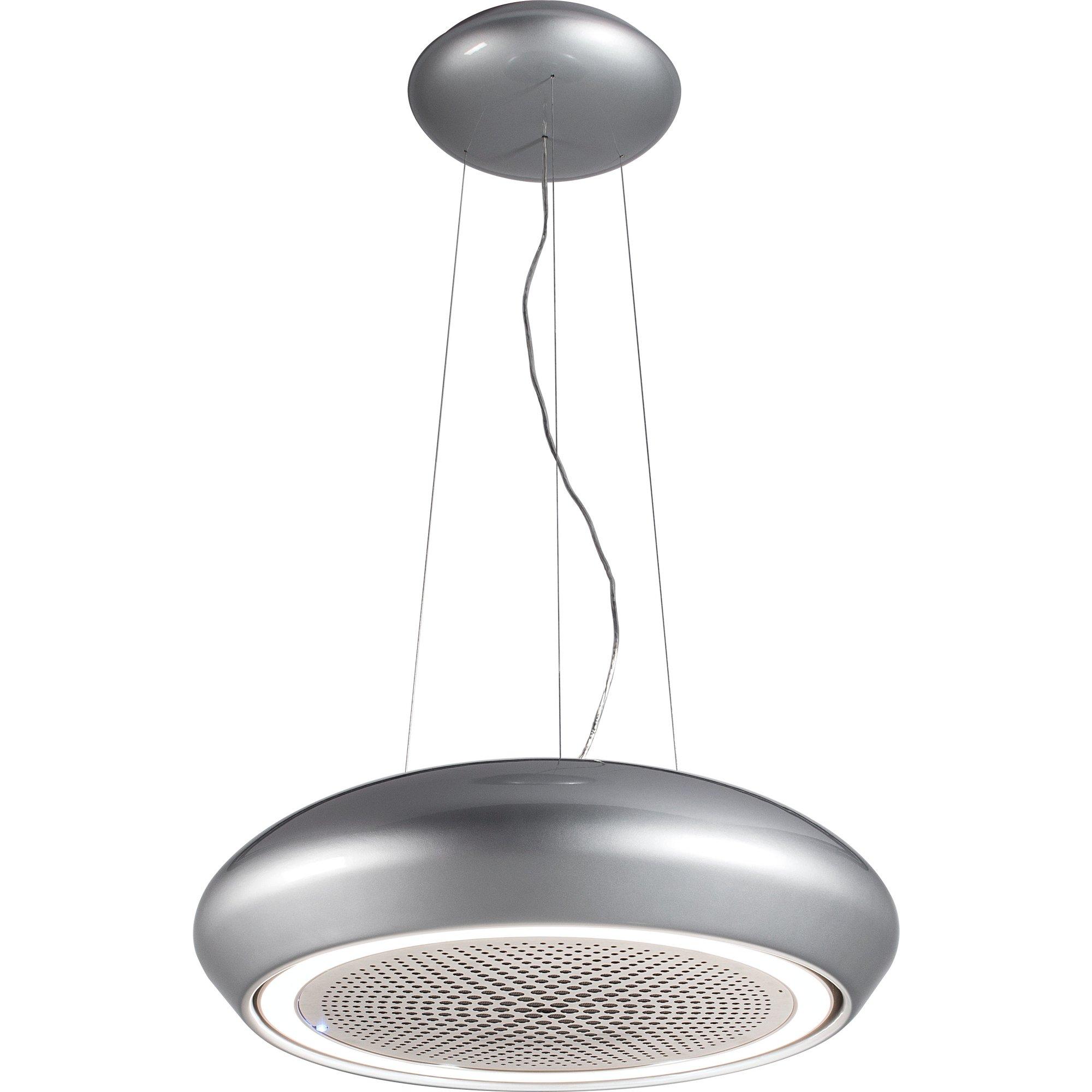 Witt Precious frihängande fläkt silver