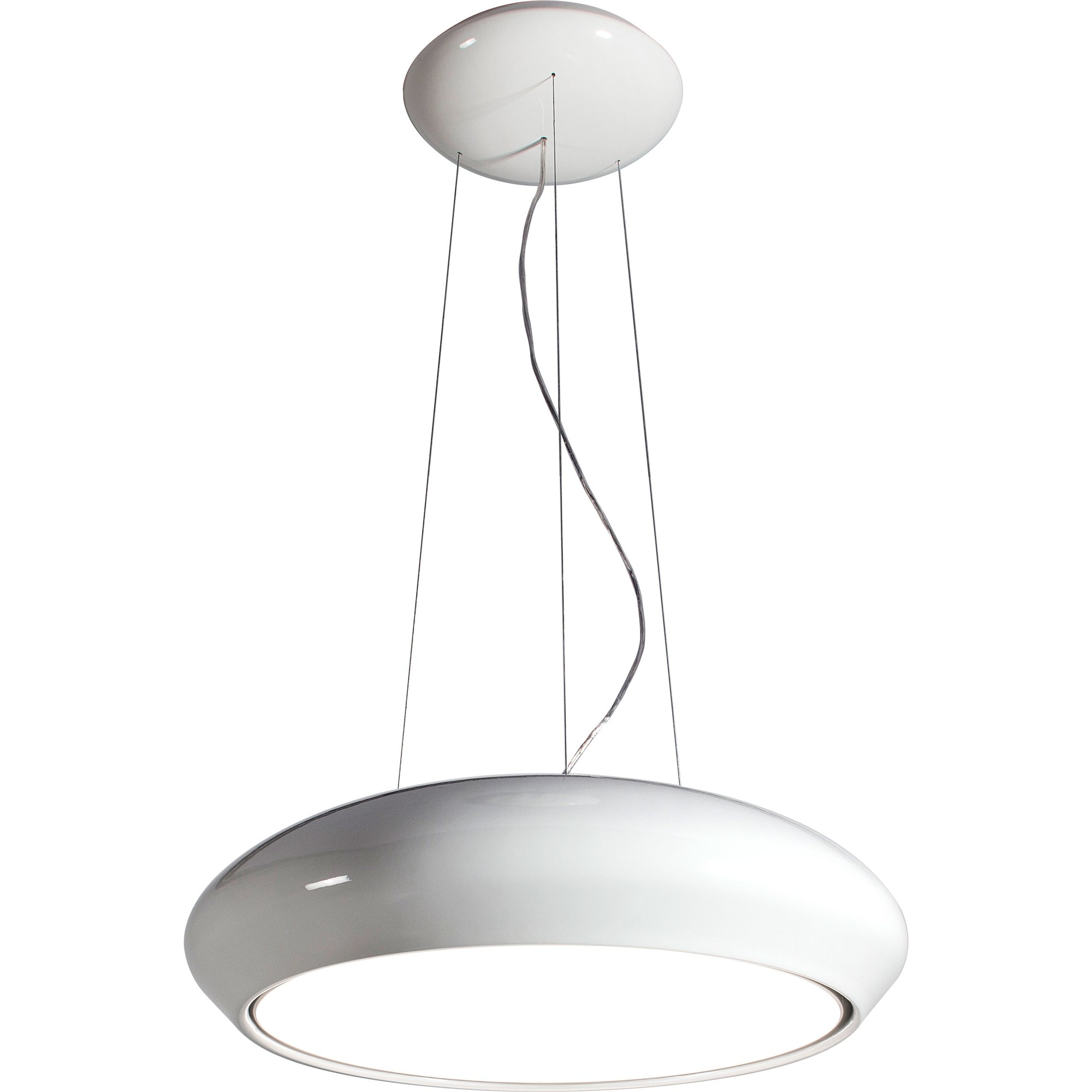 Witt Precious Lampa frihängande vit