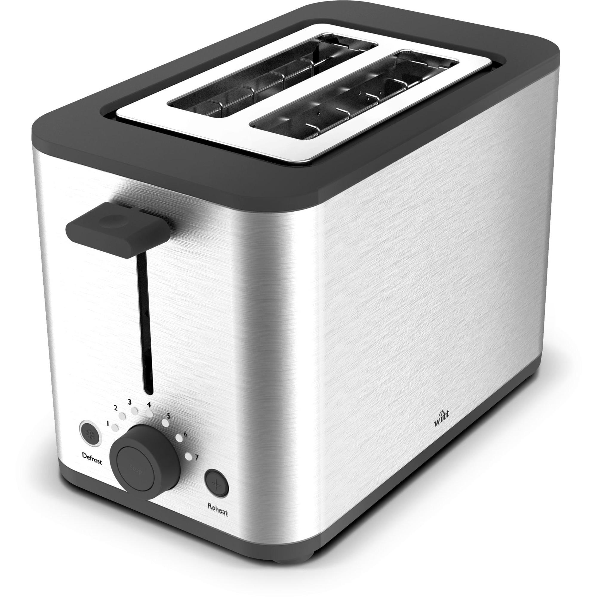 Witt Premium Toaster Rostfritt stål