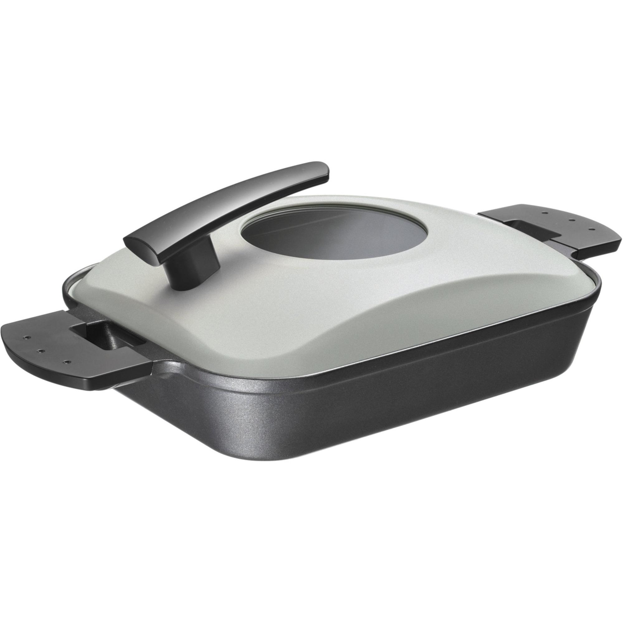 Witt Steam Grill svart m. stållock