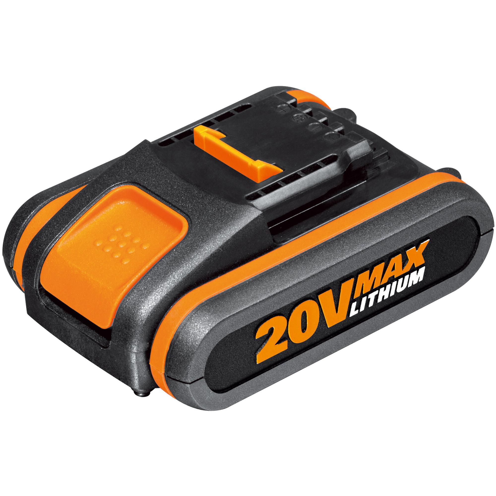 Worx WA3551 20V 2.0Ah-batteri med indikator