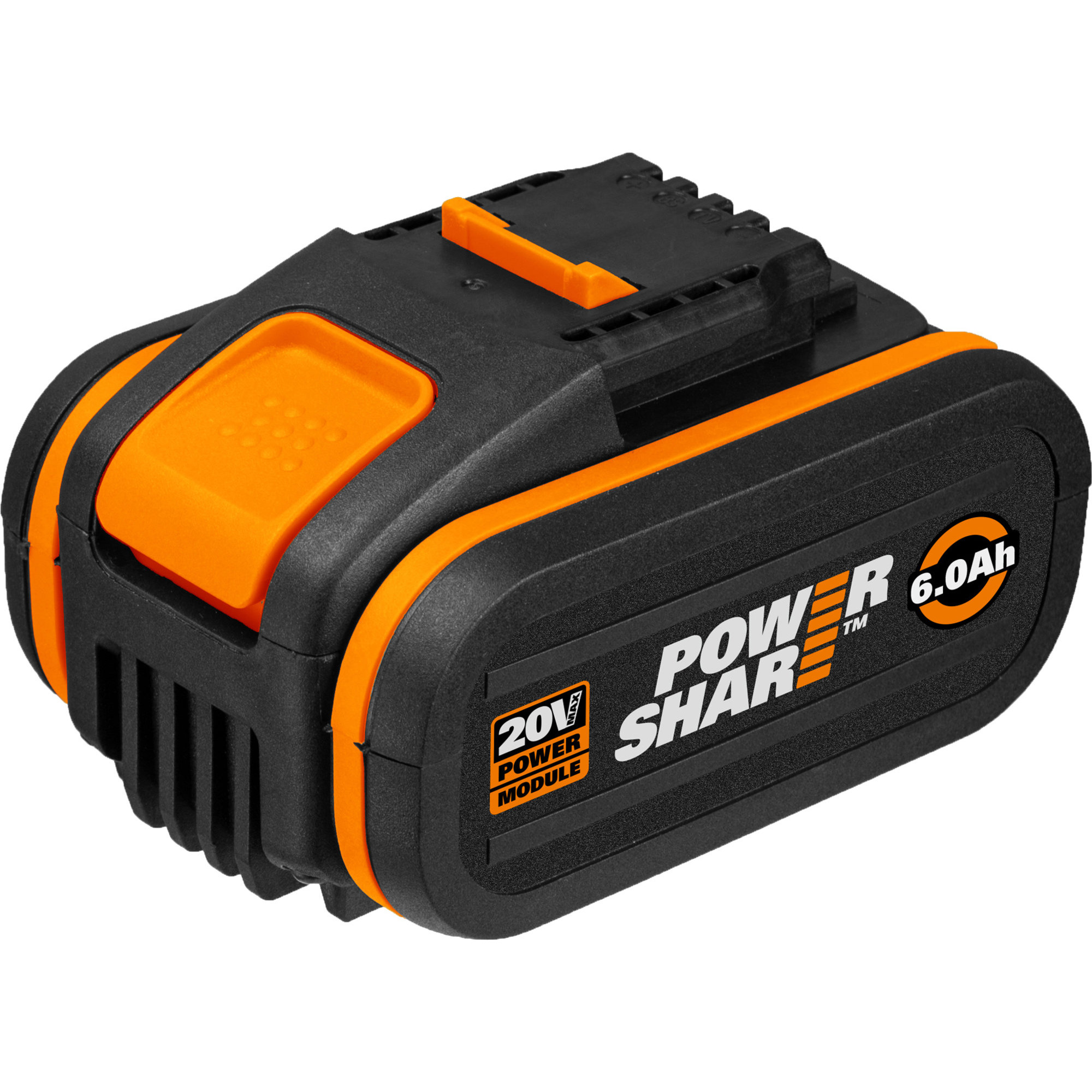 Worx WA3641 20V 6.0Ah-batteri med indikator