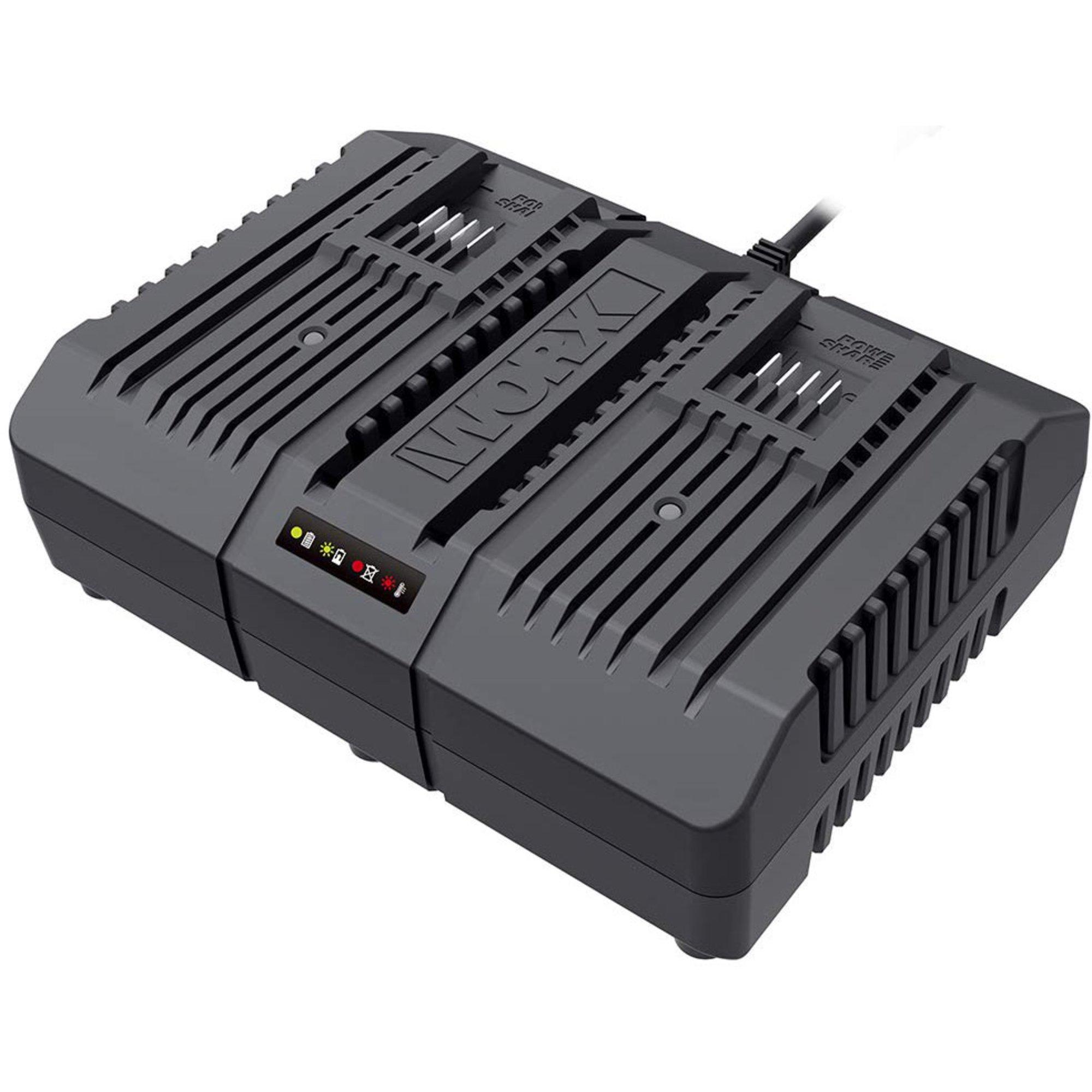 Worx WA3883 Dubbel batteriladdare 20V