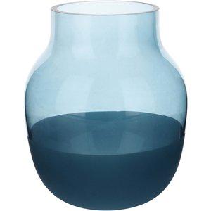 Vas 13 cm Blå