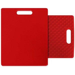 Skärbräda Röd 28 x 26 cm