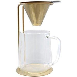 Pour Over Glaskanna med stativ