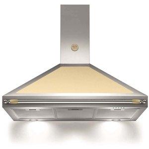 Fläktkåpa K100HERCRA 100 cm, Heritage-serien, beige