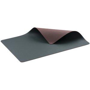 Bordstablett 4 st. grön/brun