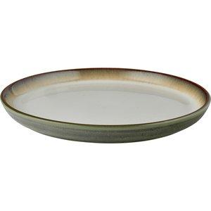 Tallerken Gastro 21 cm grå/gräd Bit