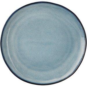 Sandrine tallerken blå Ø22 cm.