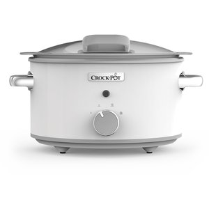 Slowcooker 4,5L One Pot Cooking Duraceramic Manuell Vit