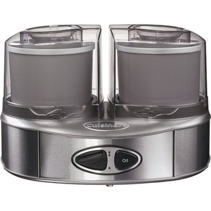 Iskremmaskin Duo - 2 x 1,0 liter