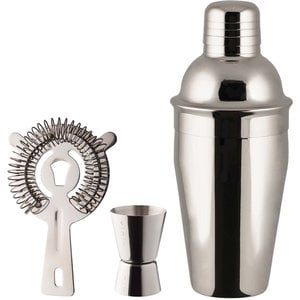 Art Barset rostfritt 5,0 dl shaker drinkmått 1,5-3 cl drinkssil