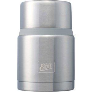 Matbeholder 750 ml. med skje stål/grå