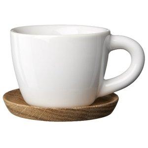 Espressokopp 10 cl med Trefat Hvit Blank
