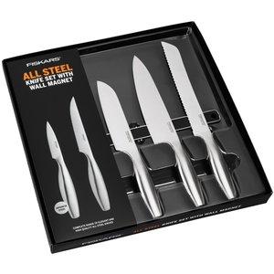 All Steel Knivsæt 5 Dele fra Fiskars » Gratis Levering