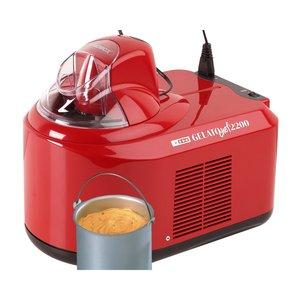 Gelato Chef 2200 Ismaskin Rød