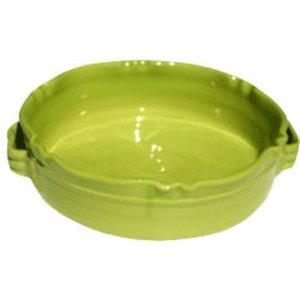 Rund Gratengform Provence Lime B:24 H:7 cm