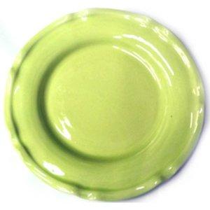Tallerken Provence Limegrønn 25 cm