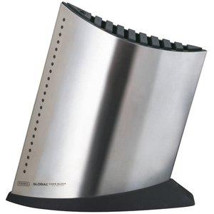 GKB52 Knivblokk Rustfritt Stål 9+1