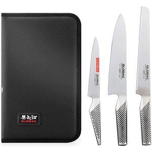 Knivset med Etui - 4 Delar