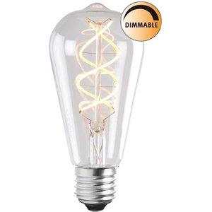 Ljuskälla LED Soft Filament DimbarKlar Uniterm E27