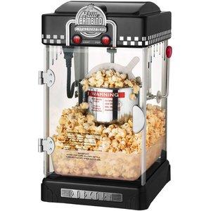 Popcornmaskin Little Bambino 2-3 liter Svart