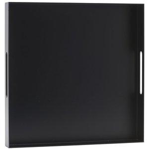 Bricka aluminium Svart 40 x 40cm