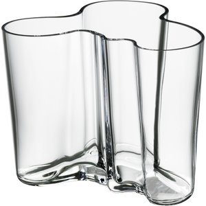 Alvar Aalto Collection Vase 120 mm Klar