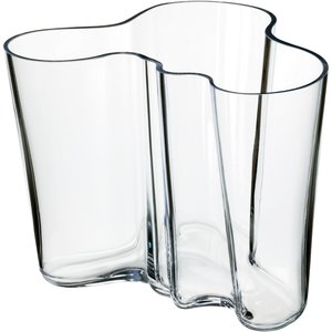 Alvar Aalto Collection Vas 160 mm Klar
