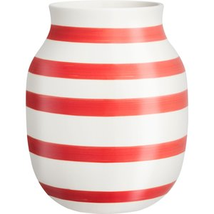 Omaggio vase 20 cm., scarlet