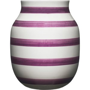 Omaggio vase 20 cm., blomme
