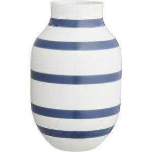 Omaggio Vas 30,5 cm Stålblå