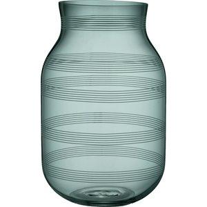 Omaggio Vase Ø18 cm Grønn