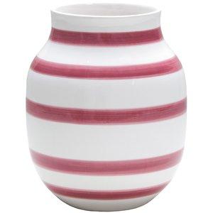 Omaggio vase rosa 20 cm.