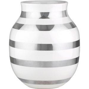 Omaggio vase sølv 20 cm.