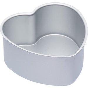 Master Class Kakform Hjärtan Silver Lös botten 15x7.5cm
