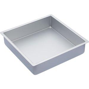 Master Class Kakform Fyrkantig Silver 30,5x30,5x7.5cm
