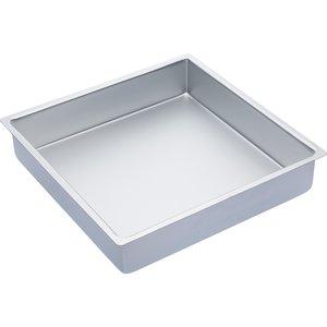 Master Class Kakform Fyrkantig Silver 35,5x35,5x7.5cm